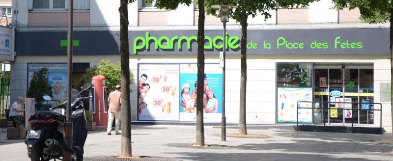 Pharmacie De La Place Des Fetes, Paris