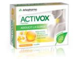 Acheter Activox sans sucre Pastilles miel citron B/24 à Paris