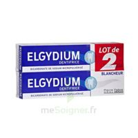 Elgydium Dentifrice Duo Blancheur Tube 2x75ml à Paris