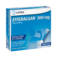 Efferalgan 500 Mg Glé En Sachet Sach/16 à Paris