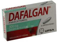 DAFALGAN 300 mg Suppositoires Plq/10 à Paris