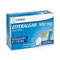 EFFERALGAN 500 mg, comprimé orodispersible à Paris