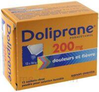 Doliprane 200 Mg Poudre Pour Solution Buvable En Sachet-dose B/12 à Paris