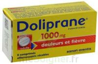 DOLIPRANE 1000 mg Comprimés effervescents sécables T/8 à Paris