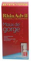 Rhinadvil Maux De Gorge Tixocortol/chlorhexidine, Suspension Pour Pulvérisation Buccale à Paris