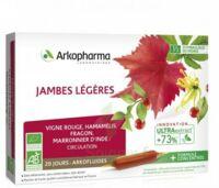 Arkofluide Bio Ultraextract Solution buvable jambes légères 20 Ampoules/10ml à Paris