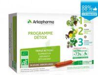 Arkofluide Bio Ultraextract Coffret programme détox 3x10 Ampoules/10ml à Paris