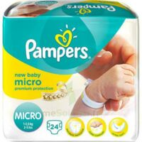 PAMPERS COUCHES NEW BABY MICRO 1-2,5 KG x 24 à Paris