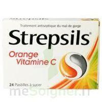 Strepsils Orange Vitamine C, Pastille à Paris
