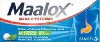 MAALOX HYDROXYDE D'ALUMINIUM/HYDROXYDE DE MAGNESIUM 400 mg/400 mg Cpr à croquer maux d'estomac Plq/60 à Paris