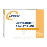 SUPPOSITOIRES A LA GLYCERINE COOPER Suppos en récipient multidose adulte Sach/25 à Paris