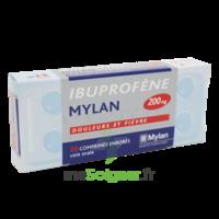 IBUPROFENE MYLAN 200 mg, comprimé enrobé B/30 à Paris