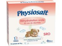 PHYSIOSALT REHYDRATATION ORALE SRO, bt 10 à Paris