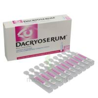 DACRYOSERUM Solution pour lavage ophtalmique en récipient unidose 20Unidoses/5ml