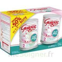 GUIGOZ LAIT EXPERT AR2 LOT DE 2X800GR