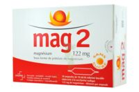MAG 2 SANS SUCRE 122 mg, solution buvable en ampoule édulcoré à la saccharine sodique à Paris
