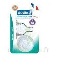 DODIE SENSATION+ Tétine plate débit 2 silicone 0-6mois