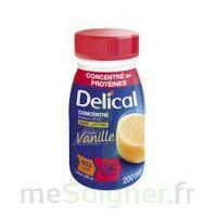 DELICAL BOISSON HP HC CONCENTREE Nutriment vanille 4Bouteilles/200ml à Paris