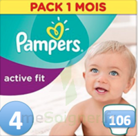 PAMPERS ACTIV FIT T4 106 UNITES à Paris