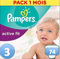 PAMPERS ACTIV FIT T3 74 UNITES à Paris