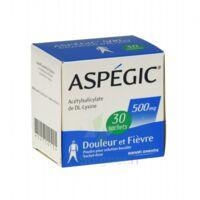 ASPEGIC 500 mg, poudre pour solution buvable en sachet-dose 30 à Paris