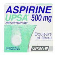 ASPIRINE UPSA 500 mg, comprimé effervescent à Paris