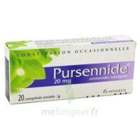 PURSENNIDE 20 mg, comprimé enrobé à Paris