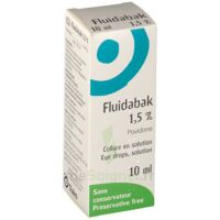 FLUIDABAK 1,5 %, collyre en solution à Paris