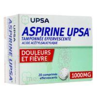 ASPIRINE UPSA TAMPONNEE EFFERVESCENTE 1000 mg, comprimé effervescent à Paris
