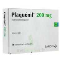 PLAQUENIL 200 mg, comprimé pelliculé à Paris