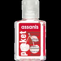 Assanis Pocket Parfumés Gel antibactérien mains cerise 20ml à Paris