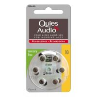Quies Audio Pile auditive modèle 10 Plq/6 à Paris