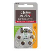 Quies Audio Pile auditive modèle 13 Plq/6 à Paris