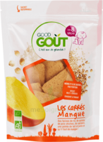 Good Goût Alimentation infantile carré mangue Sachet/50g à Paris