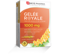 Forte Pharma Gelée Royale 1000 Mg Solution Buvable 20 Ampoules/10ml à Paris