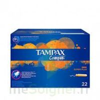 Tampax Compak - Tampon Super Plus à Paris