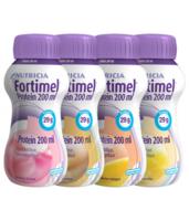Fortimel Protein Nutriment Multi Saveurs Caramel/vanille/fraise/mangue 4 Bouteilles/200ml à Paris