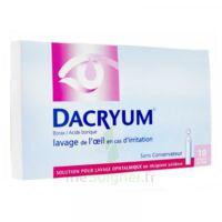DACRYUM S p lav opht en récipient unidose 10Unid/5ml à Paris