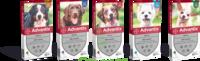 Advantix Solution externe très petit chien 1,5-4kg 4 Pipettes/2,5ml à Paris