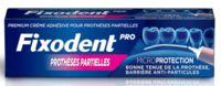 Fixodent Pro Crème Adhésive Pour Prothèse Partielle T/40g à Paris