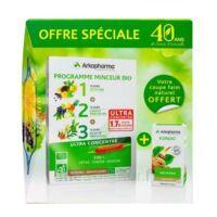 Arkofluides Programme Minceur Bio 30 Ampoules/10ml + Arkogélules Konjac B/45 Offre Spéciale 40 Ans De Santé Naturelle à Paris