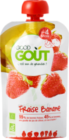 Good Goût Alimentation infantile fraise banane Gourde/120g à Paris